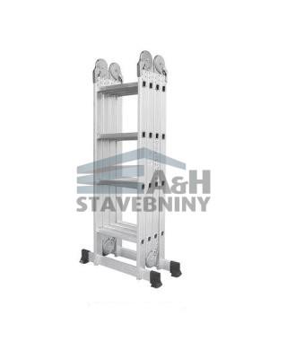 Hliníkové štafle WG607-475 4x4-4,7m multifunkční