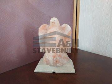 Solná lampa Orel zlevněná, skladem 1 kus