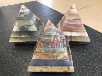 ONYX LAMPY Pyramida mix color