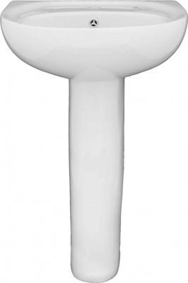 Keramické umyvadlo 50x42 cm D-833, bílé
