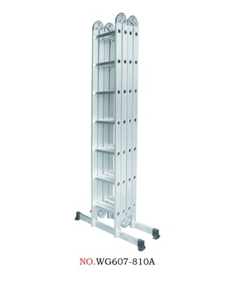 Hliníkové štafle WG607-810A 4x7-8,1m multifunkční
