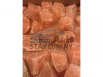 Solné krystaly - růžové, bílé nebo černé. Cena za 1 kg