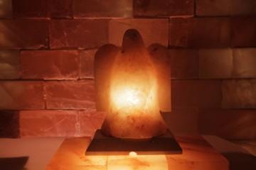 Solná lampa Orel