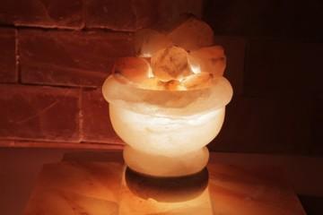 Solná lampa Ohnivá nádoba