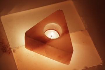 Solný svícen Trojúhelník