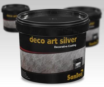 Dekorativní barva DECO ART SILVER