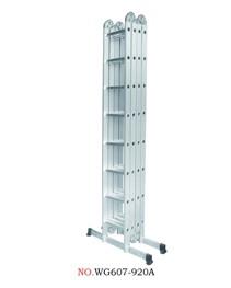 Hliníkové štafle WG607-920A 4x8-9,2m multifunkční