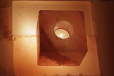 Solný svícen Kostka