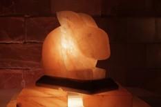 Solná lampa Králíček