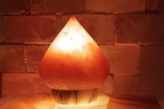 Solná elektrická lampa Slza mála