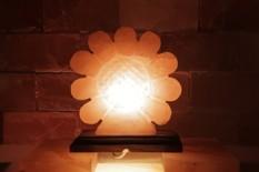 Solná elektrická lampa Slunečnice