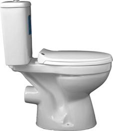 WC kombi Florina A-3096, zadní odpad