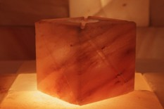 Broušený svícen - Čtyřhran