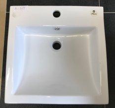 Keramické umyvadlo B-319, bílé, 46x43x16